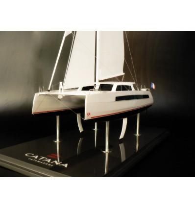 Catana C59 model built by Abordage