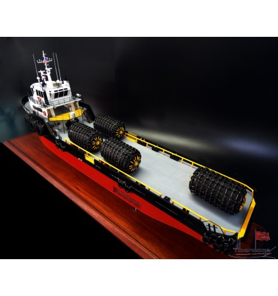 Supply Boat Josephine K Miller model built by Abordage