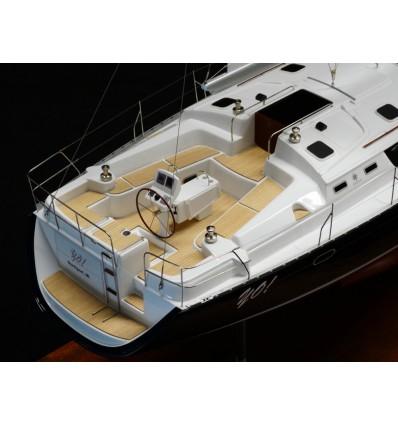 Jeanneau 43 DS boat model by Abordage