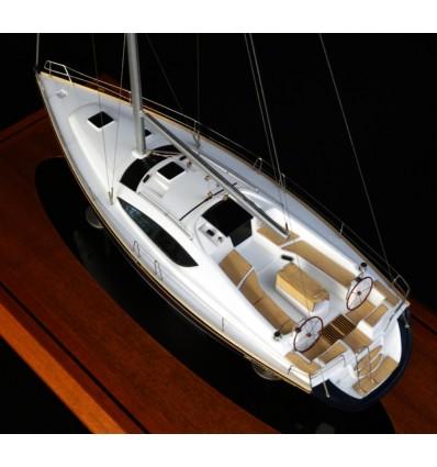 Jeanneau 45 DS boat model by Abordage