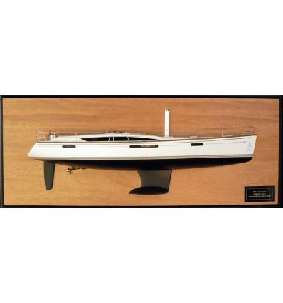 Jeanneau 53 Sun Odyssey Half Model with deck details