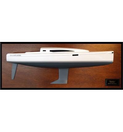 J 112 E Custom half hull flush deck with cabin