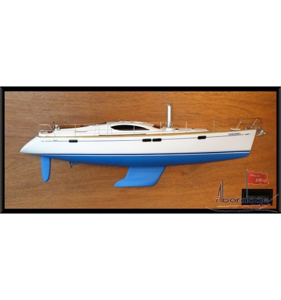 Jeanneau Sun Odyssey 54 DS half model with deck details