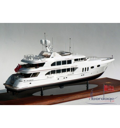 "Trinity Yachts Hull No. T-026 ""Vita"" Tri-Deck Motor Yacht. 150'-Model by Abordage"