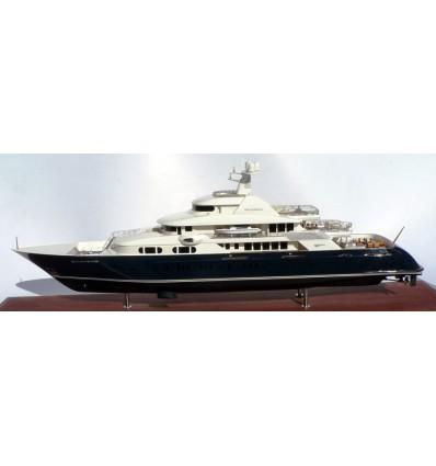 "Trinity Yachts Hull No. T-051 ""New Horizon"" Quad-Deck Motor Yacht. 242'-Model by Abordage"
