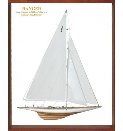 Ranger Framed Half Model by Abordage