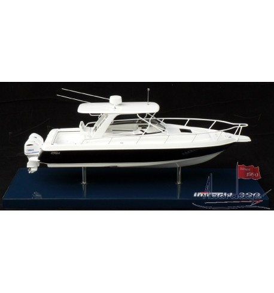 Intrepid 390 Sport Yacht Model by Abordage
