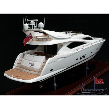 Sunseeker 82 model built by Abordage