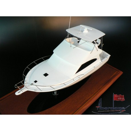 Egg Harbor 37 Sport Yacht Boat Model by Abordage