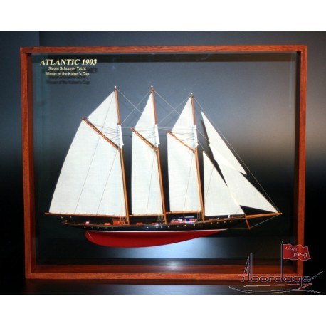 Atlantic Framed Half Model by Abordage