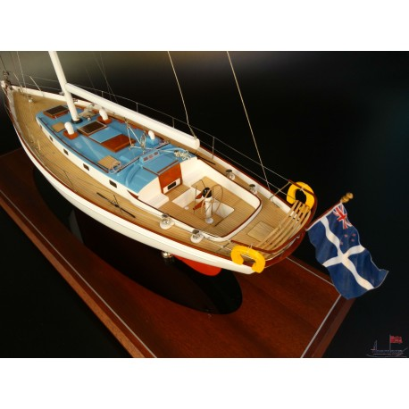 45 ft Sloop model built by Abordage