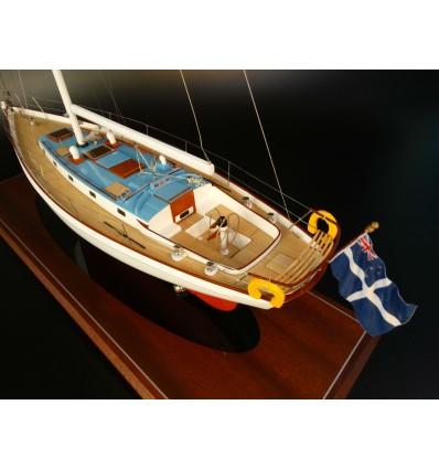 45 ft Sloop model built by Abordage