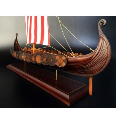 Viking Longship model built by Abordage