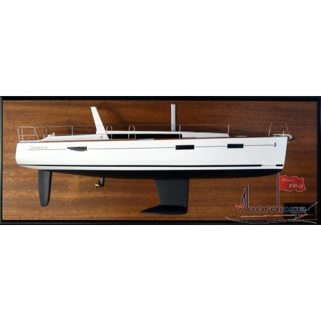 Beneteau Oceanis 41 half model with deck details by Abordage