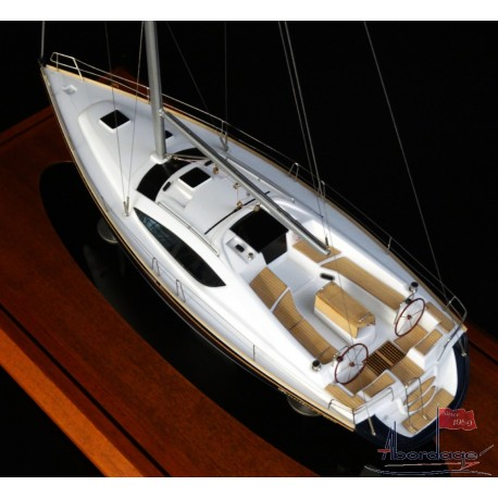 Jeanneau 45 DS boat model by Abordage
