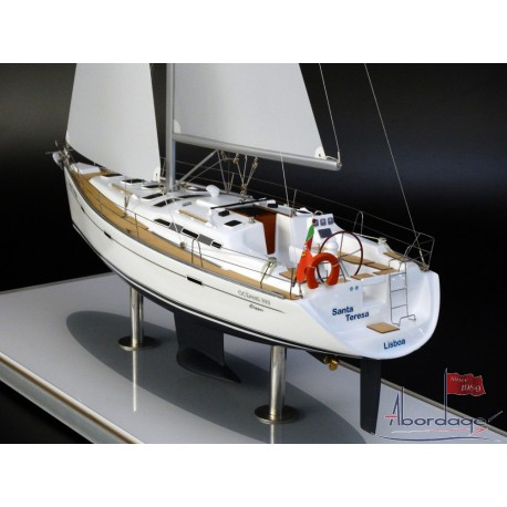 Beneteau Oceanis 393 custom model by Abordage