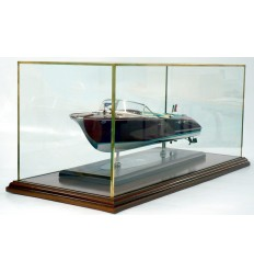 ​Display case Acrylic with solid brass edge frame