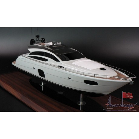 PERSHING 74 custom model built by Abordage