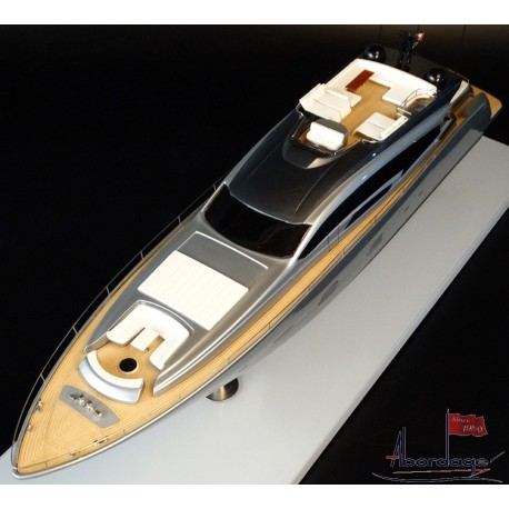 PERSHING 108 custom model built by Abordage