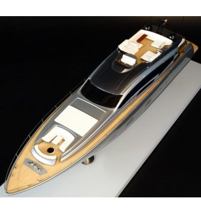 PERSHING 108 custom model built by Abordage