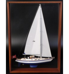 Hallberg-Rassy 53 Framed Half Model