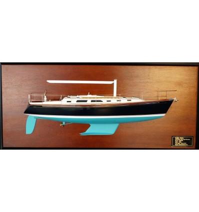 Sabre 402 Half Model