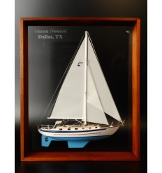 Pacific Seacraft 40 Framed Half Model