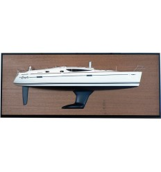 Jeanneau 42 DS Half Model with deck details