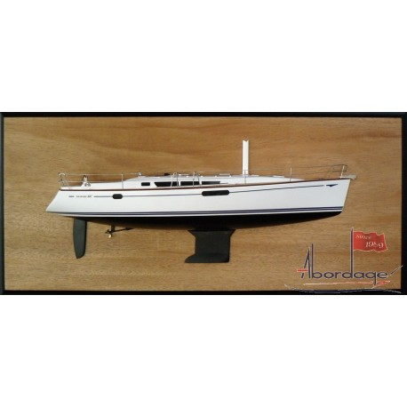 Jeanneau 44i Half Model with deck details
