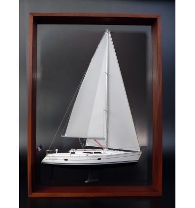 Jeanneau 37.1 Sun Odyssey framed half model