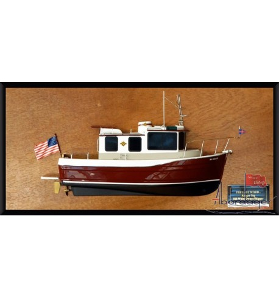 Ranger Tug Boat half model