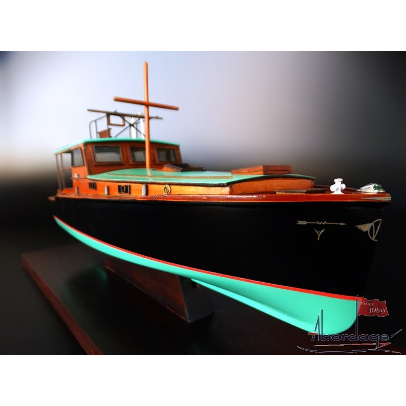 Pilar Desk Model Boat Ernest Hemingway S Fishing Boat