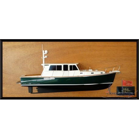 Duffy 42 half model with deck details