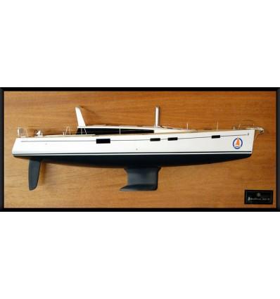 Beneteau Sense 50 half model with deck details