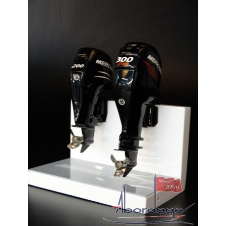 Boat engine scale models