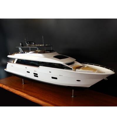 Hatteras 90 Motor Yacht Custom Model