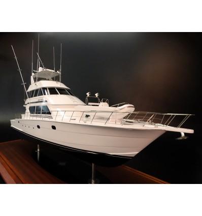 Hatteras 92 custom boat model