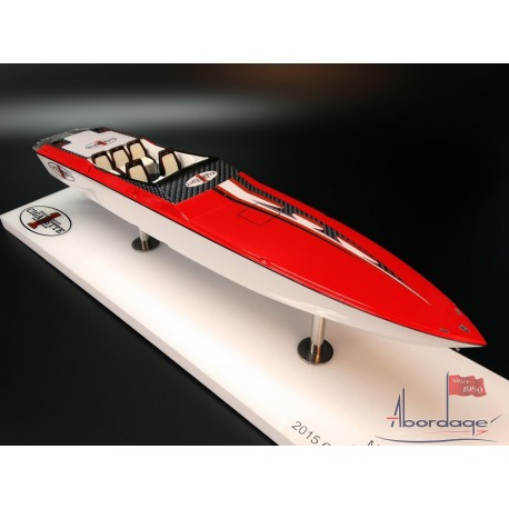 Cigarette Top Gun 38 custom model