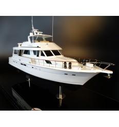 Hatteras 72 custom model