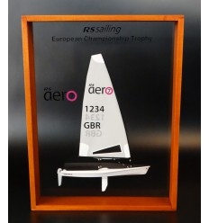 RS Sailing aero7 framed half model