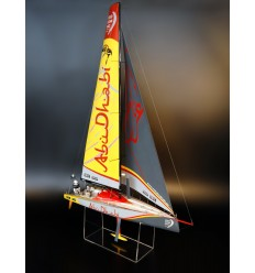 Volvo Ocean Race 65 AZZAM custom model
