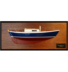 Morris yachts Frances 26 half model