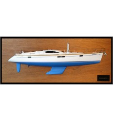 Jeanneau Sun Odyssey 54 DS half model with deck details