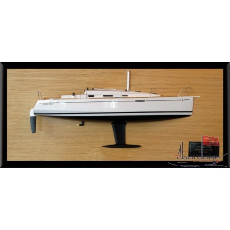Beneteau First 30 half model with deck details