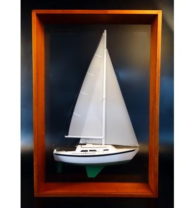 Ericson 27 framed half model