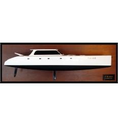 Gunboat 62 half model