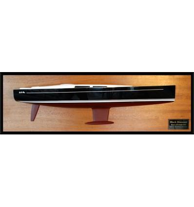Hanse 575 custom half hull