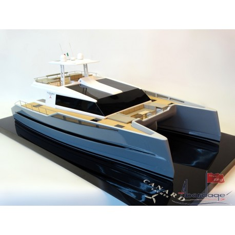 PowerCat 55, catamaran from Canard Yachts custom model