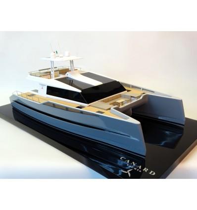 PowerCat 55, catamaran from Canard Yachts custom model