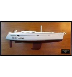 Beneteau 393 custom half model